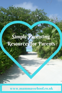 Simple Parenting Parenting Resources Parenting books www.mammasschool.co.uk