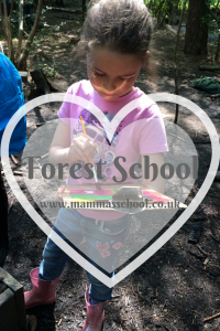 Forest school, pond dipping, mini beast hunting, sun developing paint www.mammasschool.co.uk