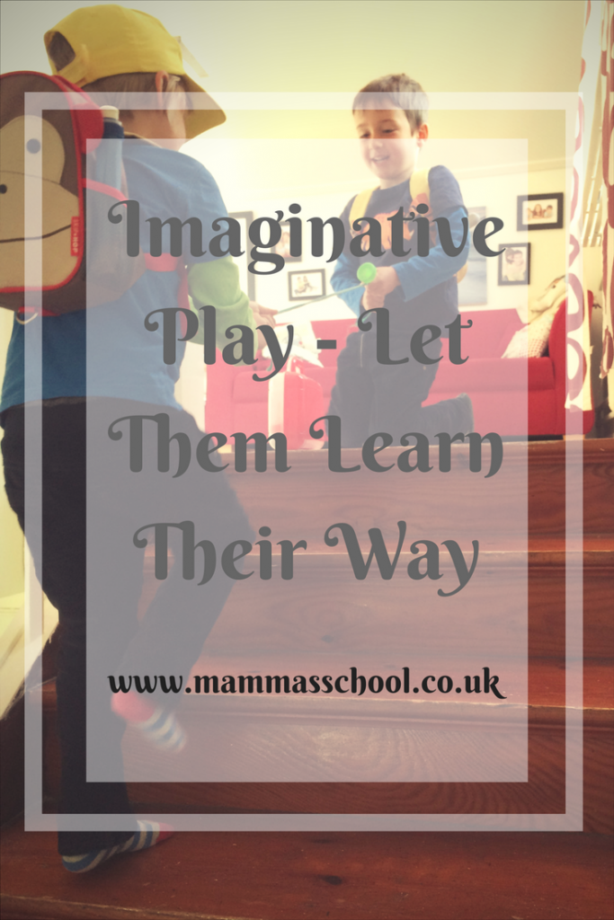 Imaginative play-Let them Play their way, play important, role play, www.mammasschool.co.uk