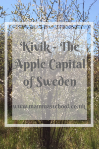 Kivik - The Apple Capital of Sweden, Visit Skane, Osterlen, apple blossom, sweden www.mammasschool.co.uk