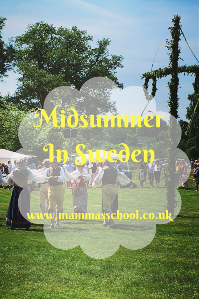 Midsummer in Sweden, Swedish Midsummer, Midsommar, Midsummer Party, Midsummer, www.mammasschool.co.uk