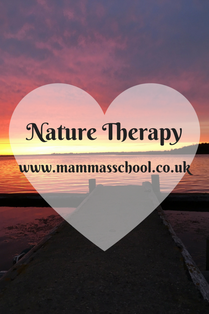 Nature therapy, healing nature, calming nature, solitude nature, nature, outdoors, www.mammasschool.co.uk