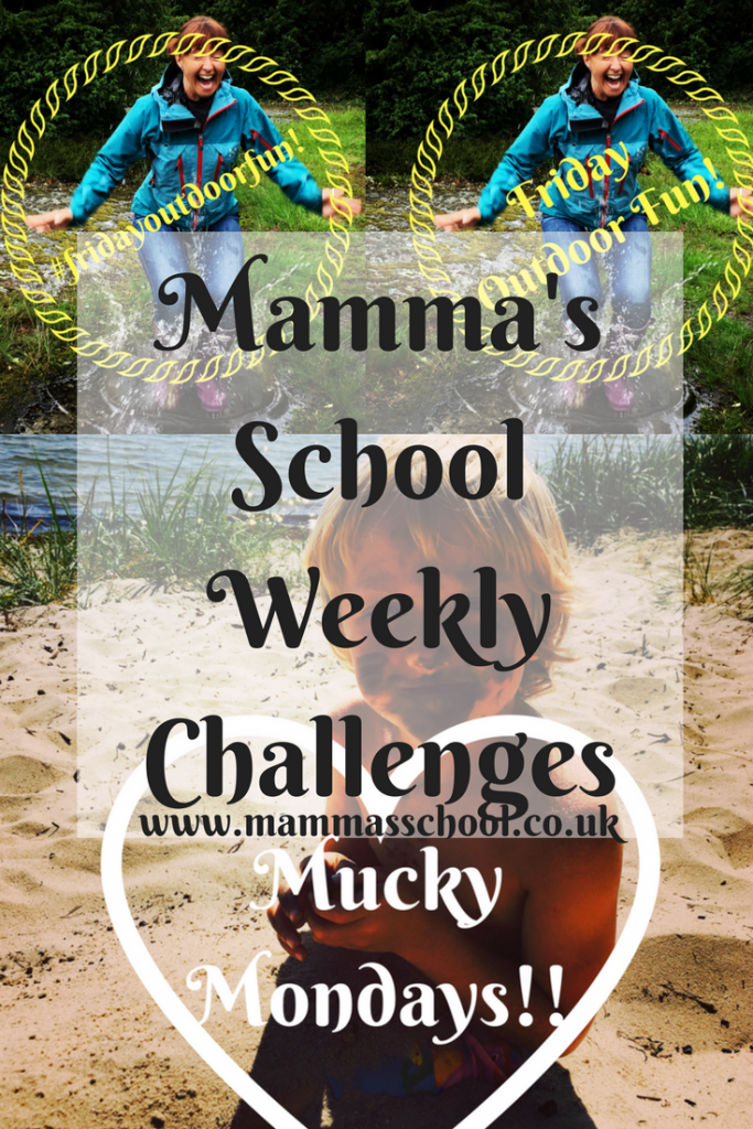 Mamma's School weekly challenges, challenges, weekly events, social media challenges, www.mammasschool.co.uk