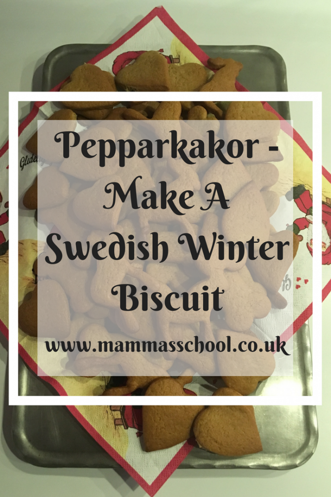 Peppakakor - Make A Swedish Winter Biscuit, Peppakakor, Ginger Biscuit, Biscuit, Swedish Biscuit, Christmas Biscuit, Swedish Food, www.mammasschool.co.uk