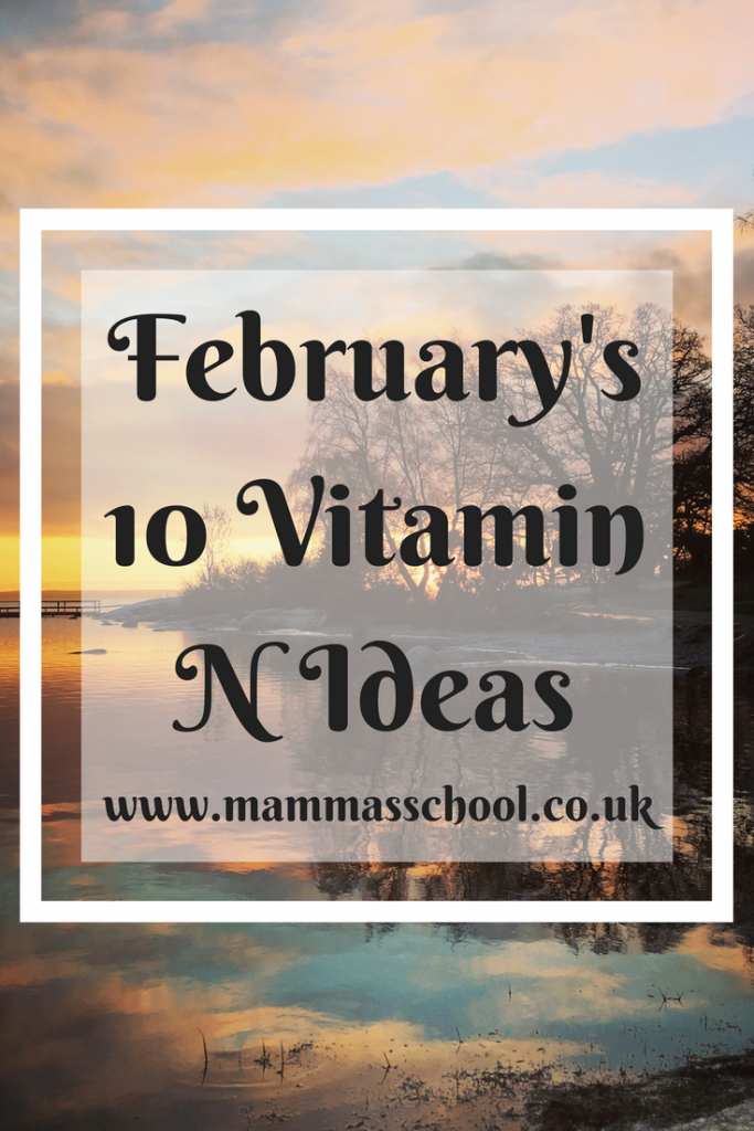 Get Your Dose Of Vitamin N, Vitamin Nature, Nature, outdoors, February Outdoor Activities, www.mammasschool.co.uk