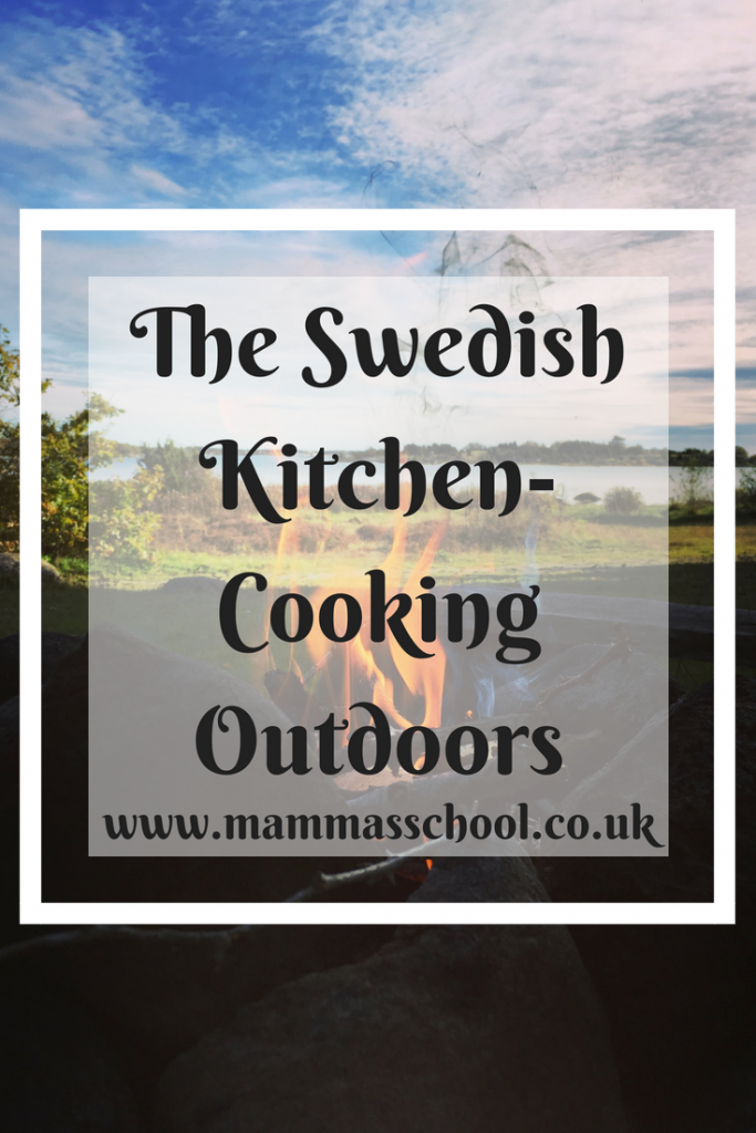 The Swedish Kitchen-cooking outdoors, Campfire, campfires, outdoor cooking, campfire cooking, bushcraft, Sweden, www.mammasschool.co.uk