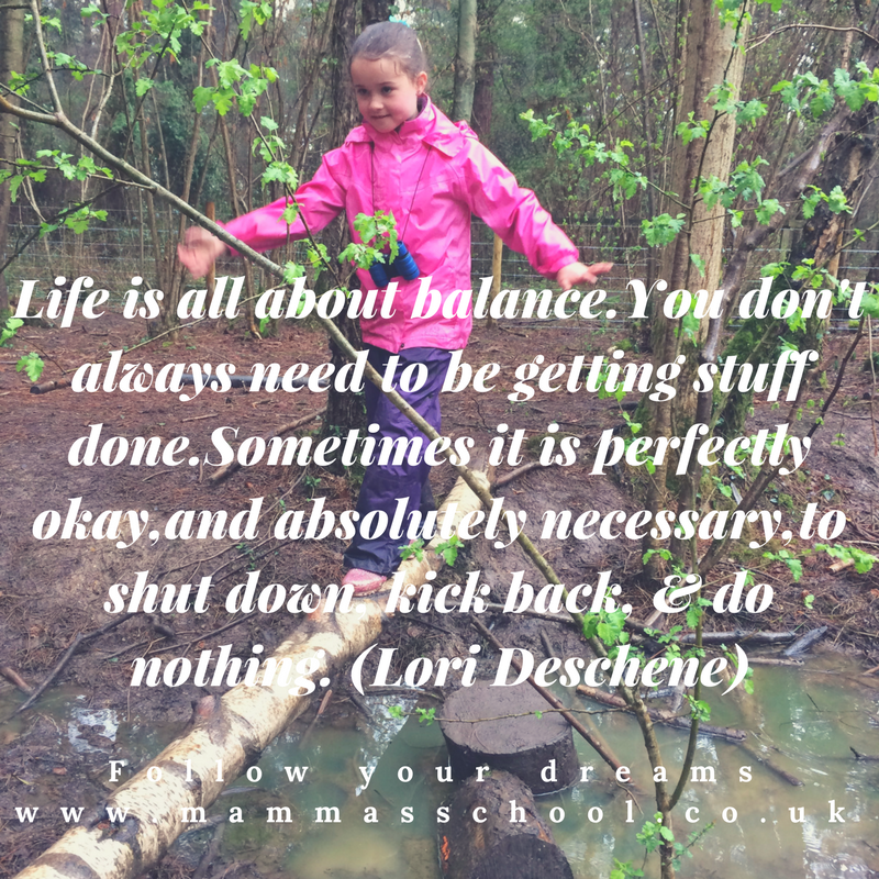 Inspiration Wednesday - Life Balance, quotes, quote, balance, do nothing, sit still, www.mammasschool.co.uk