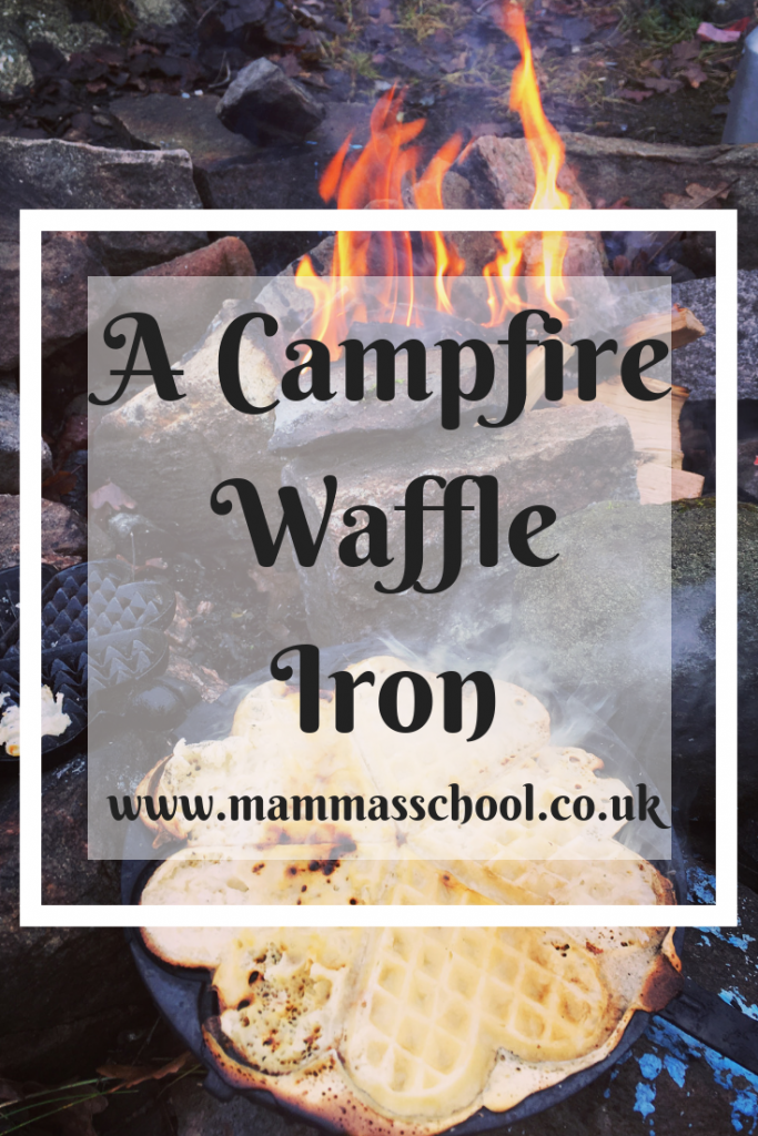 Outdoor Kit Focus - Campfire Waffle Iron, campfire waffles, outdoor waffle iron, outdoor cooking, camping food, hiking, www.mammasschool.co.uk
