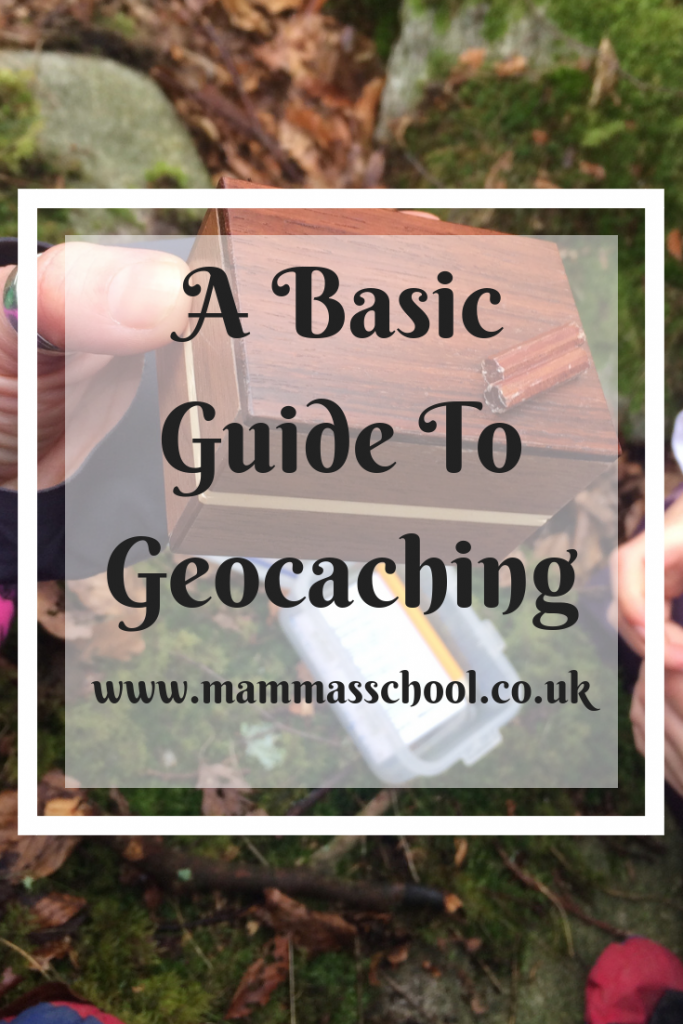 Geocaching - A good way to keep little ones hiking, Geocaching - A Basic Guide, hiking, outdoor fun, outdoor families, treasure hunt, navigation, geocaching, www.mammasschool.co.uk