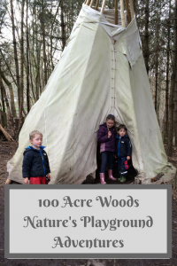 100 Acre Woods nature's playground outdoor adventures Hampshire www.mammasschool.co.uk
