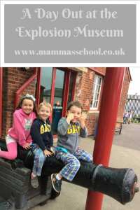 A Day out at the explosion museum Portsmouth Gosport Hampshire www.mammasschool.co.uk