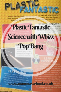 Plastic fantastic science, plastics science, plastic science, plastic experiments, whizz pop bang, www.mammasschool.co.uk
