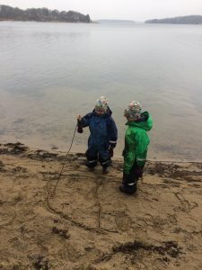 Play Is Learning - Let Them Play - Stick Writing https://oddhogg.com