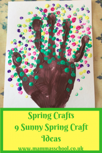 Spring Crafts 9 sunny spring craft ideas spring art fun www.mammasschool.co.uk
