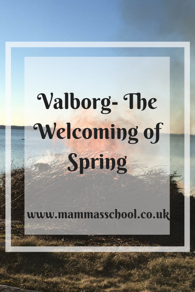 Valborg - The Welcoming Of Spring, spring, start of spring, springtime www.mammasschool.co.uk