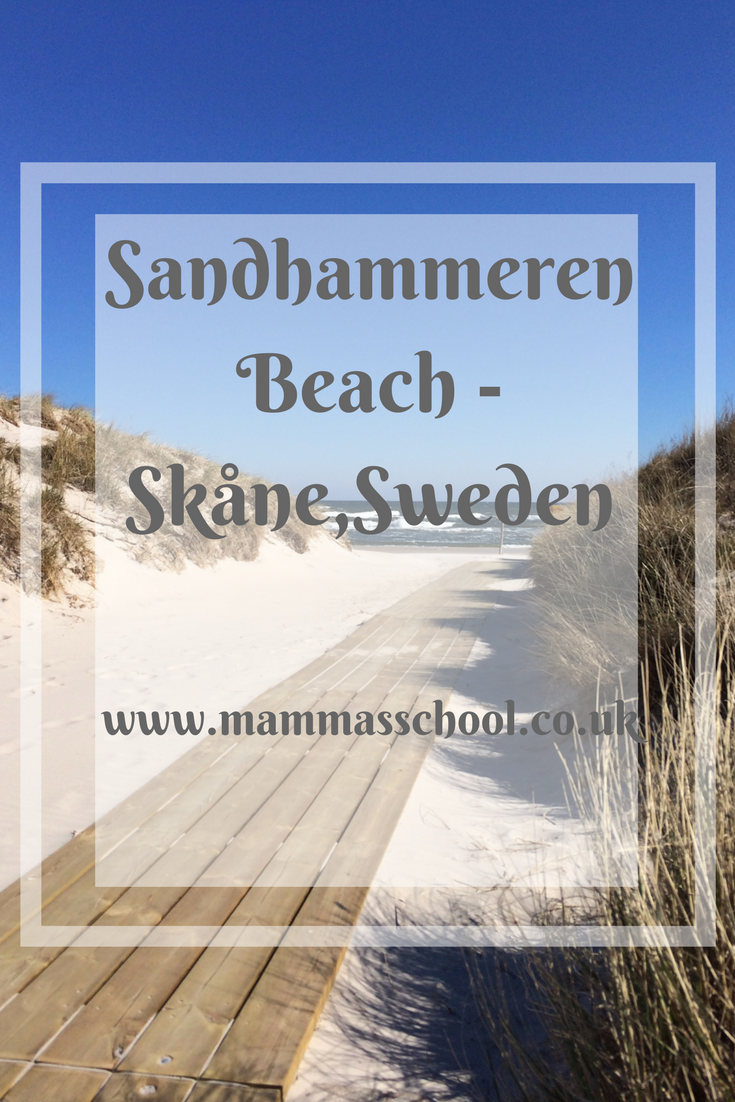 Sandhammeren Beach, Skåne, Skane beach, Sweden beaches, white sand, www.mammasschool.co.uk