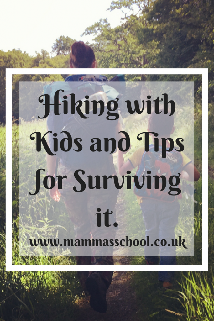 Hiking with Kids and tips for surviving it, hiking children, outdoors, nature, children outdoors, www.mammasschool.co.uk