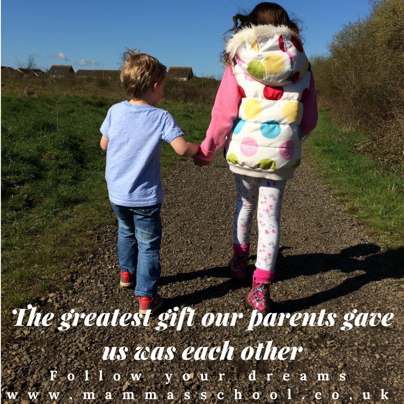 Inspiration Wednesday - Siblings, Quote, Quotes, Quote of the day, Inspirational quotes, motivational quotes, sibling quote, www.mammasschool.co.uk
