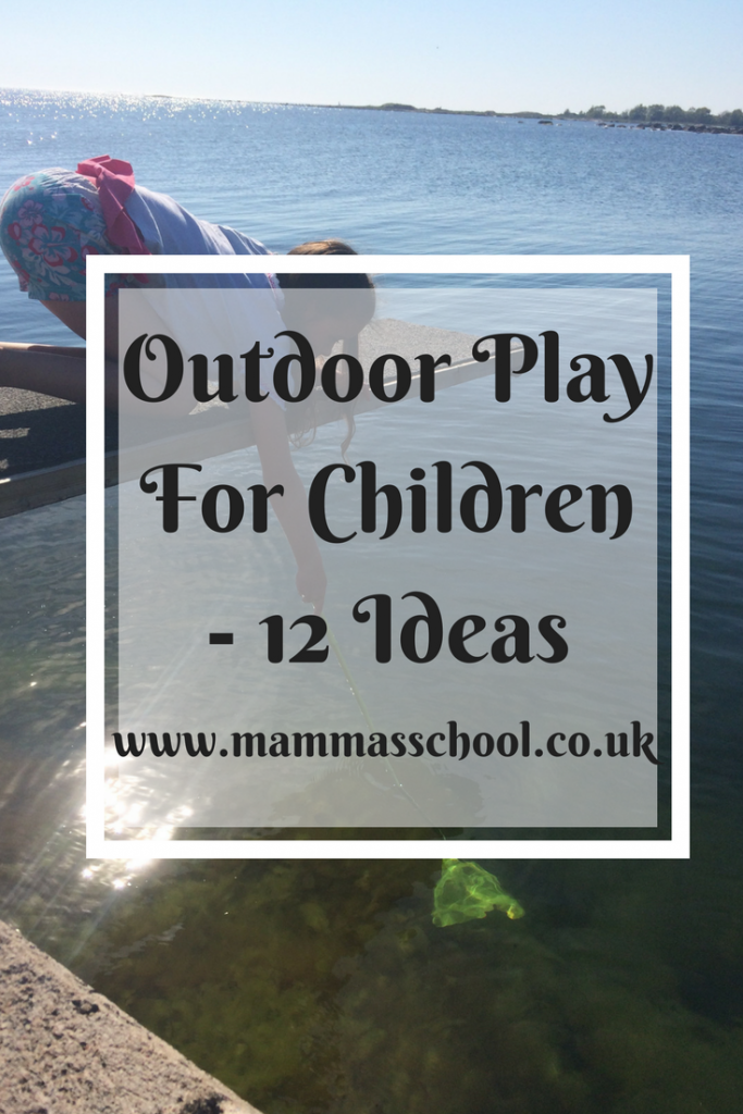 Outdoor play for children, children outdoor play, outdoor play, nature play, play, outdoor, outdoors, www.mammasschool.co.uk