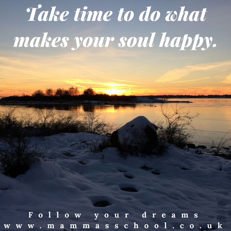 Inspiration Wednesday - Happiness, happy soul, happy, live life, dream, www.mammasschool.co.uk