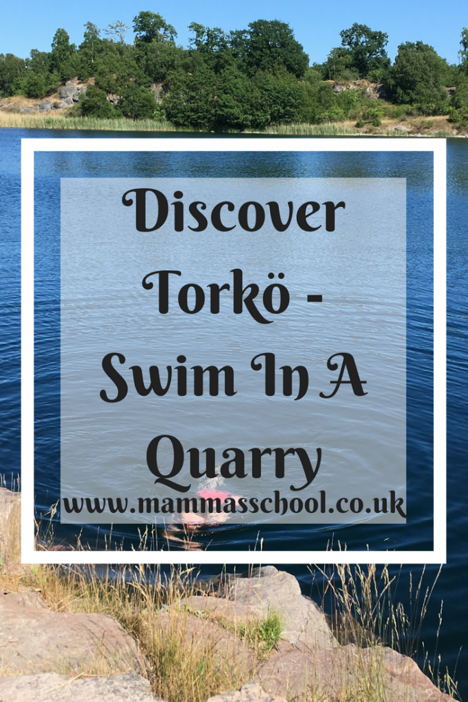 Discover Torkö - Swim in a quarry, Torko, Torkö, Blekinge, Karlskrona, Sweden, www.mammasschool.co.uk