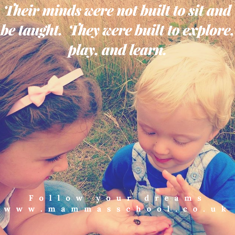 Inspiration Wednesday - Let Children Explore, Home education, nature, natural world, outdoors, outdoor play, nature play, www.mammasschool.co.uk