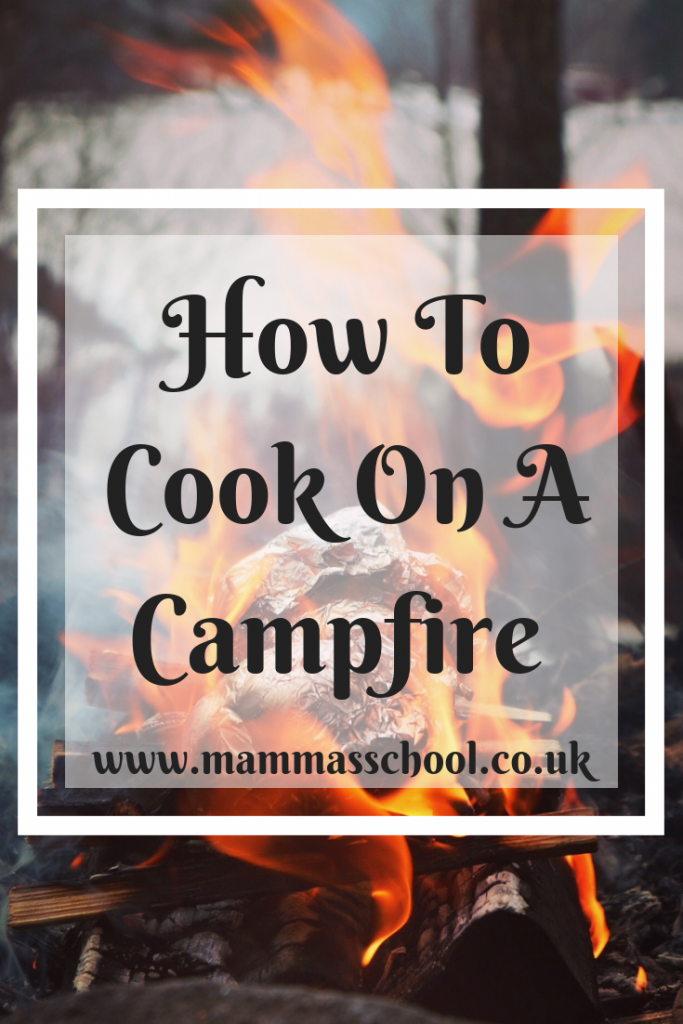 How to cook on a campfire,campfires, bushcraft, camping, hiking, outdoor cooking, campfire food, www.mammasschool.co.uk
