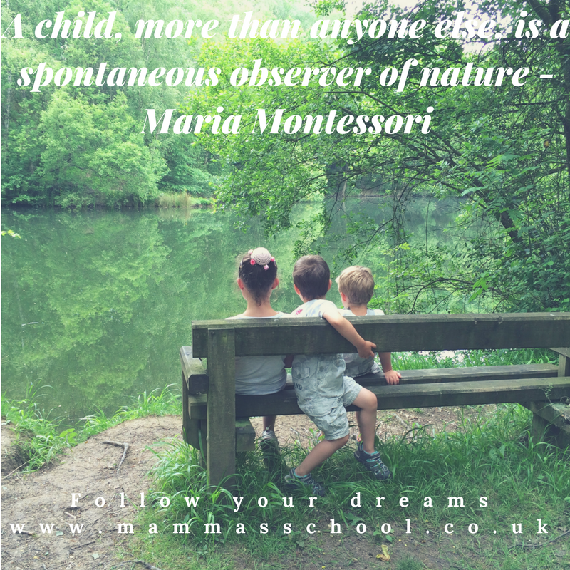 Inspiration Wednesday - Children In Nature, quotes, inspirational quotes, outdoor children, nature play, www.mammasschool.co.uk