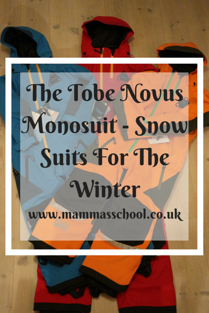 The Tobe Novus Monosuit - Snow Suits for the winter, snow suits, snowsuits, all in ones, outdoor clothing, winter clothing, childrens outdoor clothing, www.mammasschool.co.uk