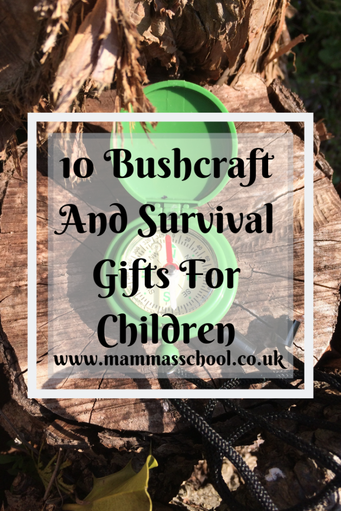 10 Bushcraft and survival gifts for children, bushcraft gifts, survival gifts, camping gifts, hiking gifts, outdoor children gifts, children's bushcraft, camping, hiking, www.mammasschool.co.uk