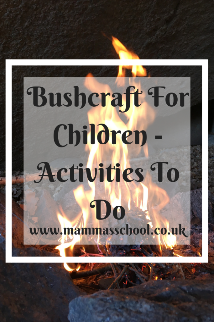 Bushcraft for children - Activities to do, bushcraft activities, bushcraft, outdoor activities, outdoor families, outdoor kids, www.mammasschool.co.uk